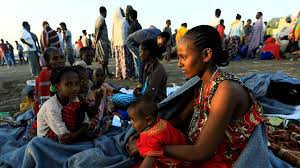 "UK Government says it is concerned by reports that ""Eritrean troops have entered Ethiopian refugee camps in Tigray and forced a number of refugees to return to Eritrea""  and responds to reports of a mass killing  at the Mariam of Zion church in Aksum, Ethiopia. Meanwhile, (UNHCR) say that more than 58,000 refugees have fled into neighbouring countries to escape the conflict"