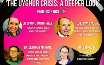 Webinar: The Uyghur Crisis – a deeper look. Thursday March 18th 2021