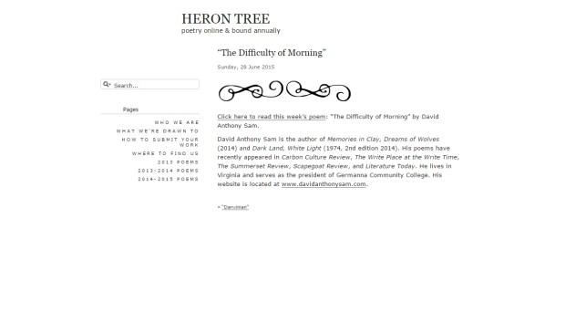 Difficulty - Heron Tree