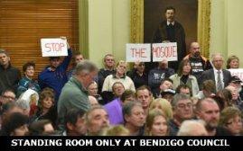 Bendigo mosque – opposition grows, fury grows. – News