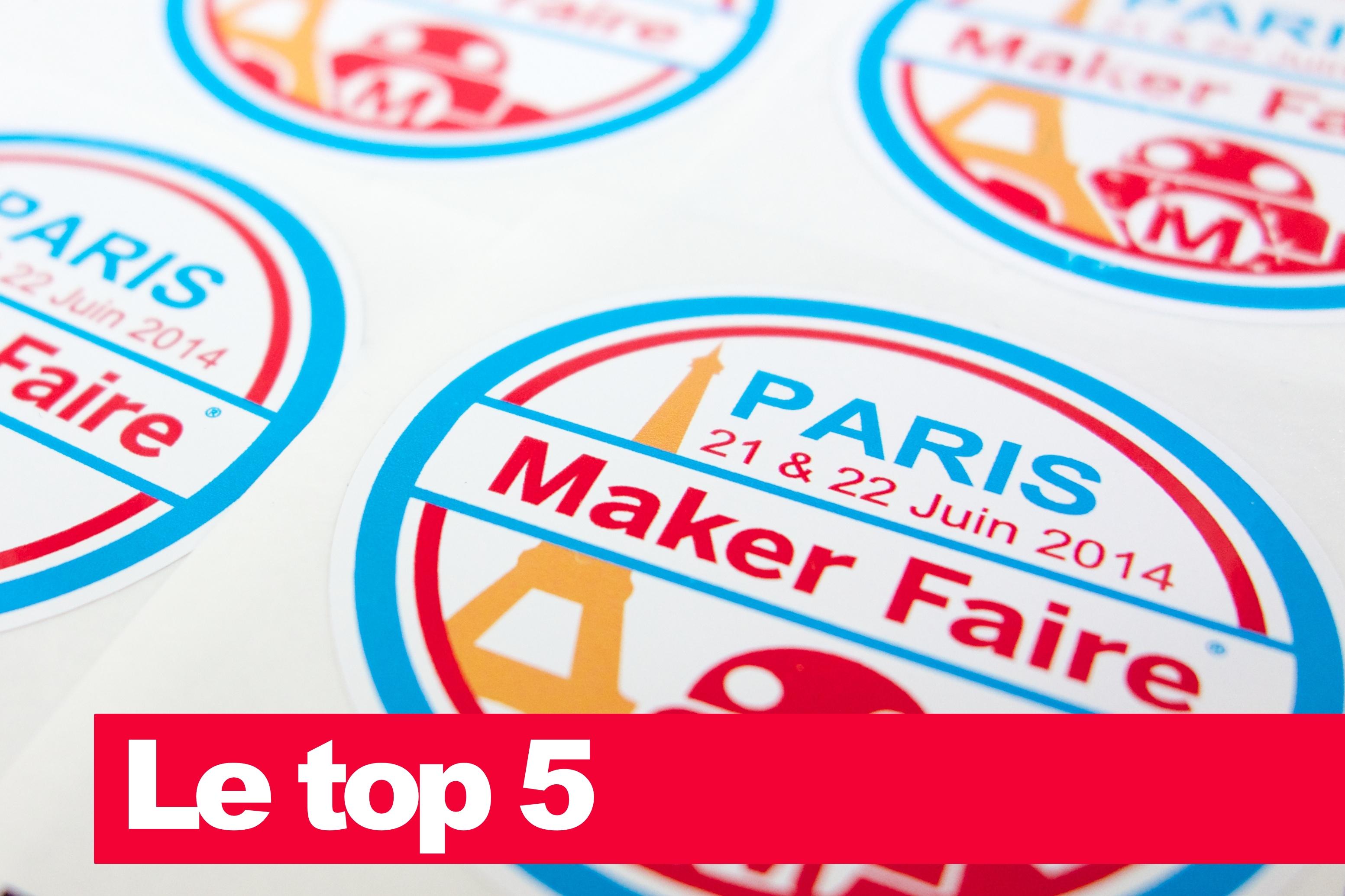 Le top 5 Maker Faire Paris review