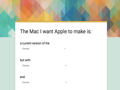 Realistic fantasy mac configurator