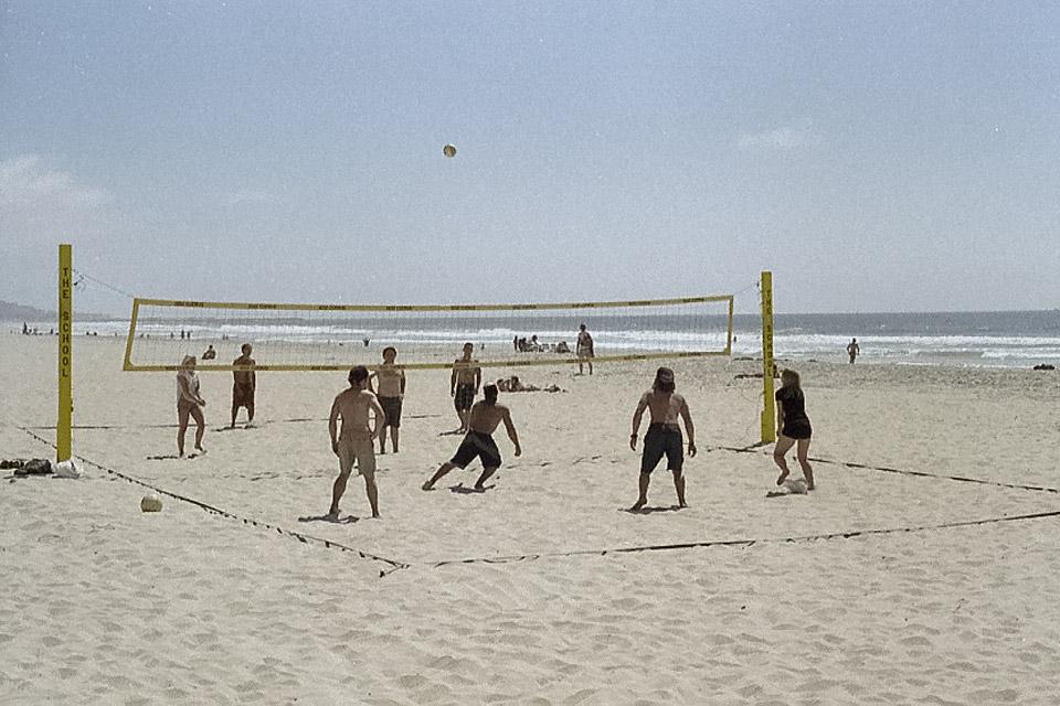 Mission Beach in San Diego by David Bernie.