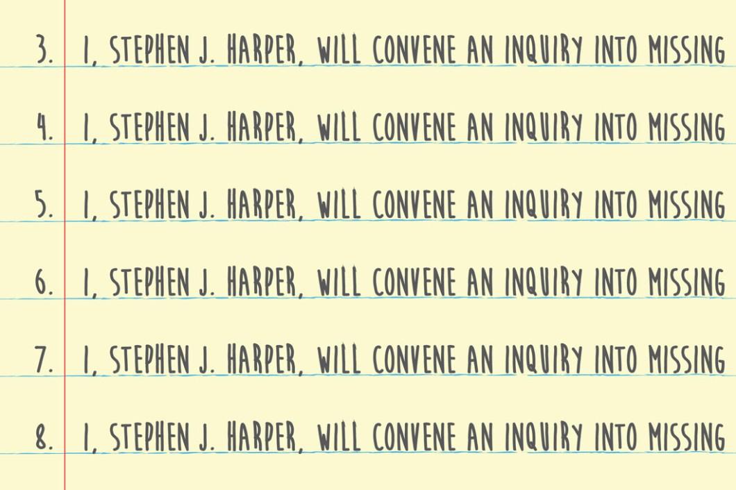 David Bernie Harper Inquiry MMIW Indian Country 52 Week 50