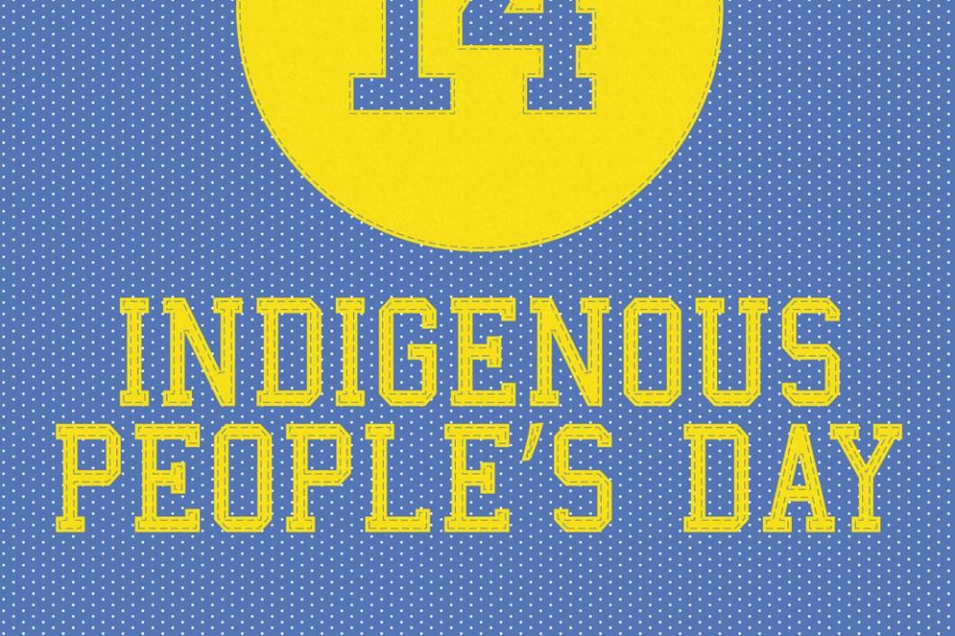 David Bernie Indigenous People's Day Indian Country 52 Week 18