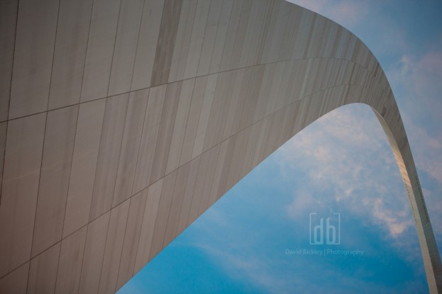 St. Louis Gateway Arch by David Bickley Photography