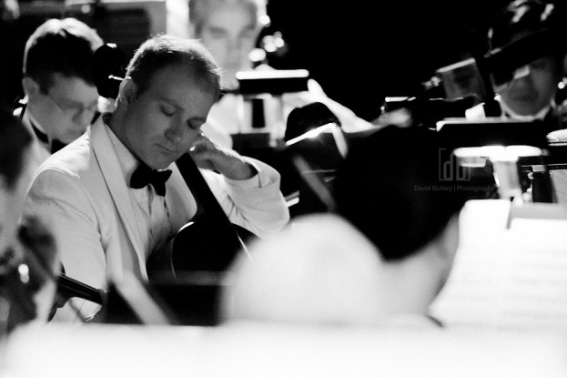 Kansas City Symphony Cellist Alexander East, photographed by David Bickley Photography