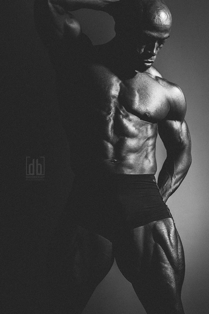 WBFF Pro Shawn Taylor by David Bickley Photography