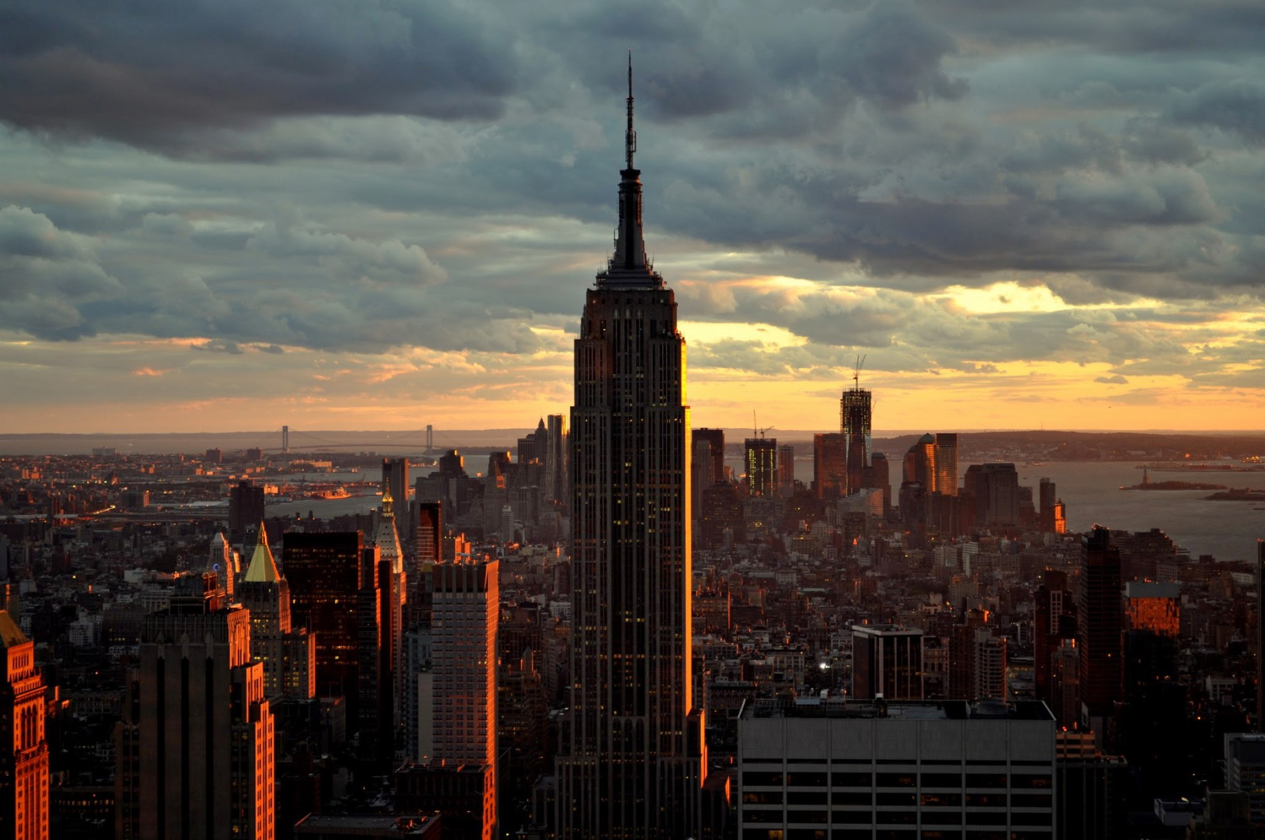Manhattan-Sunset