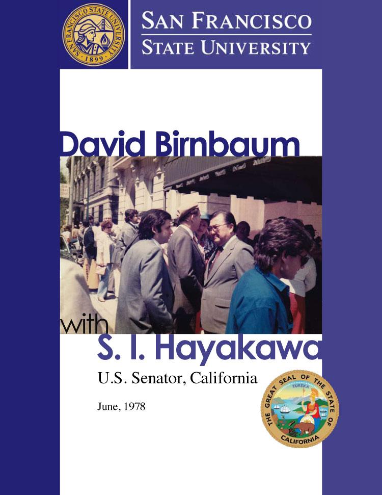 32-DavidBirnbaumHayakawaSanFranciscoStateUniversityUSSenatorCalifornia