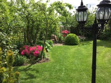 An informal garden