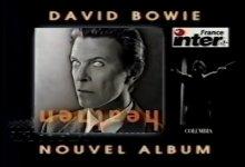 David Bowie – Heathen, French TV Advert.