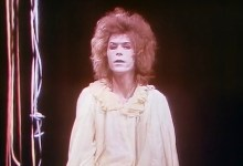 Lindsay Kemp and David Bowie in Pierrot in Turquoise (1970)