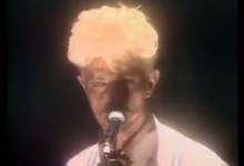 David Bowie – Scary Monsters (Live, 1983)