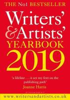 Front Cover of Writers and Artists Yearbook 2019