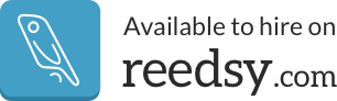 Logo of the Reedsy.com website with a link to the service provider version of the site