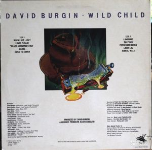 Wild Child Back Cover
