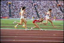 Zola Budd Mary Decker 1984 Olympics