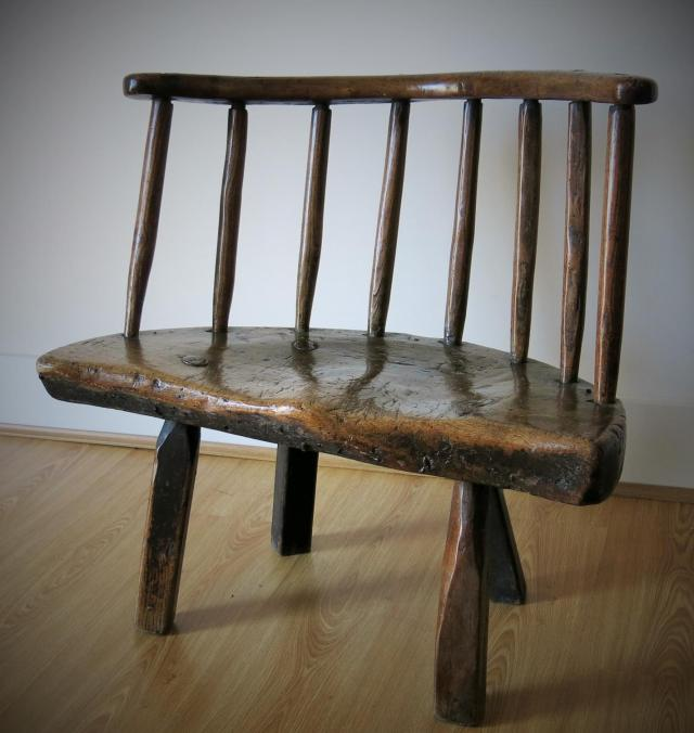 Chunky Welsh Low Back Chair - Archive