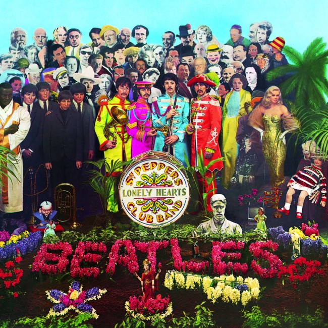 Sgt. Pepper's Lonely Hearts Club Band. Released on the 1st June 1967