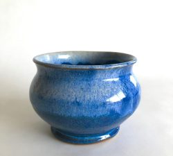 Ceramic 28 Large Blue Bowl
