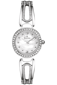 Ladies Bulova Crystal Watch
