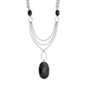 Red-carpet-black-agate-necklace