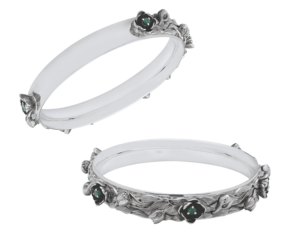 May-birth-bangle-emerald-lilly-of-the-valley