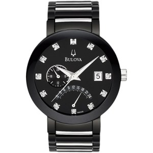 Men's Bulova Diamond Watch