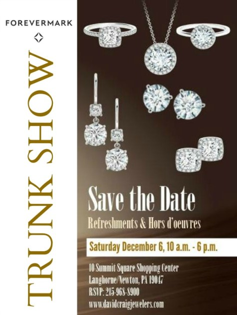 Forevermark Diamond Trunk Show - David Craig Jewelers