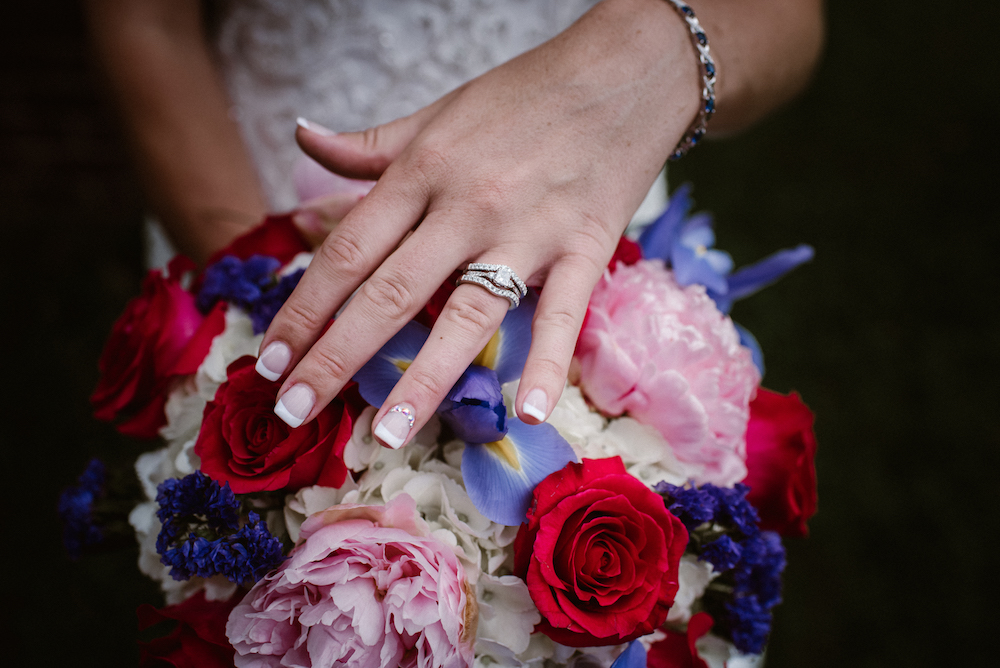 Kelsey's ring close up