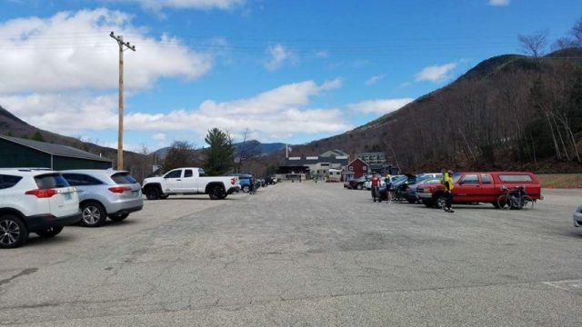 The staging area at Loon