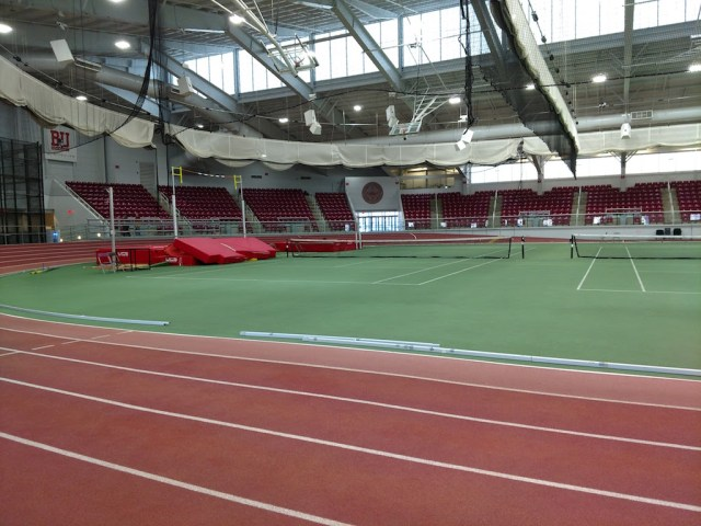 Beautiful Indoor Track