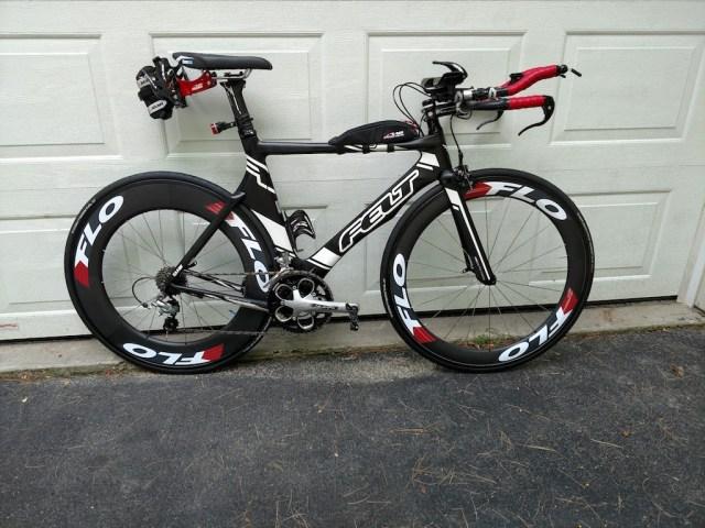 Bike setup for next race