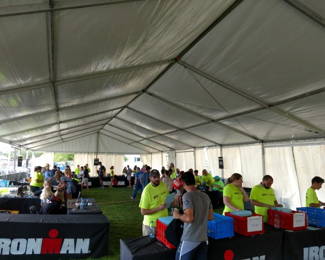 Ironman Check In