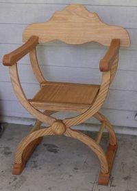 medieval chair planspdfwoodplans