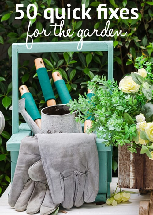 Easy Ideas 50 Quick Fixes For The Garden This Spring
