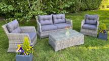 liana 4-seater outdoor garden furniture