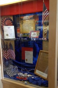 Constitution Week Display at the King County Library, Redmond.