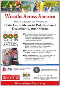 Wreaths Across America news ad