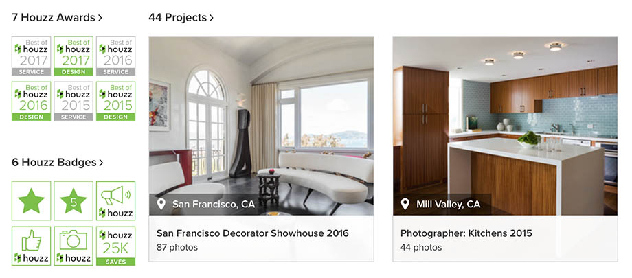 Houzz Marketing from Photographer David Duncan Livingston