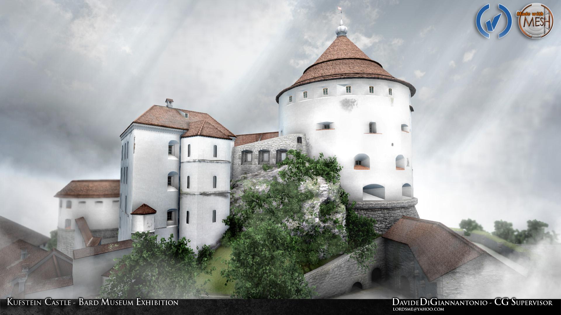Kufstein Castle  Davide Di Giannantonio3D Artist