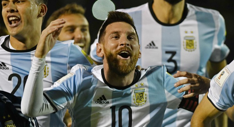 Messi classificació Mundial 2018