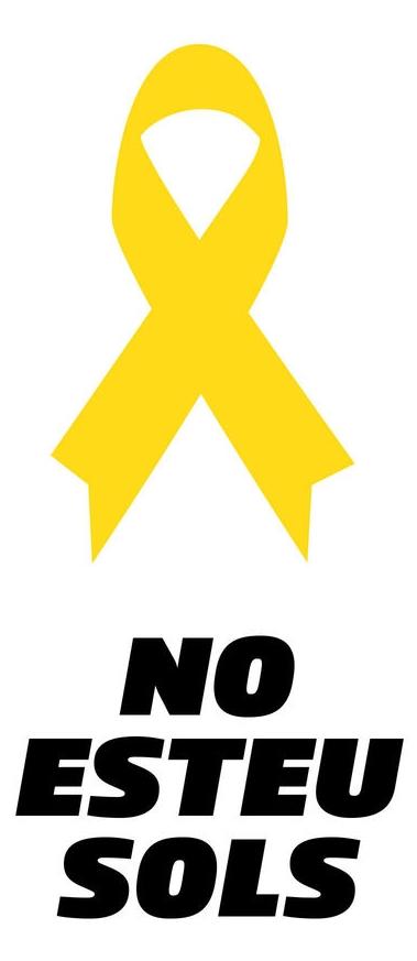 No esteu sols #LlibertatPresosPolítics
