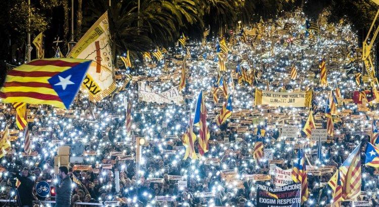 Manifestació Llibertat Presos Poítics