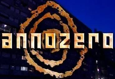 Logo trasmissione Anno Zero, da DavideMaggio.it