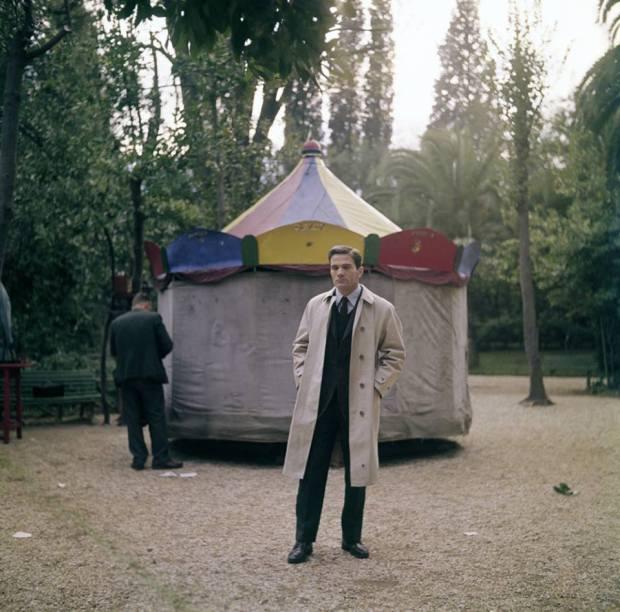 Pier Paolo Pasolini a Roma, nel 1967. (Franco Vitale, Reporters Associati & Archivi/Mondadori Portfolio)