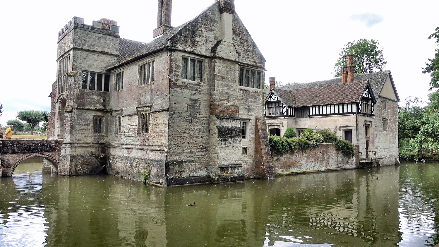 Baddesley Clinton is a moated manor house