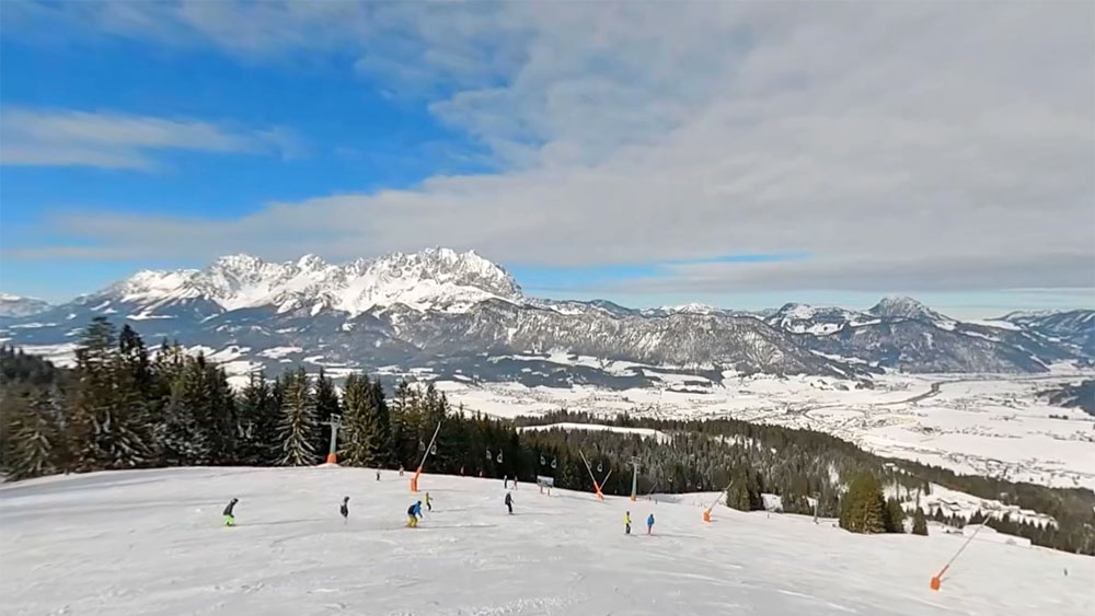 St. Johann in Tirol ski run red 4a