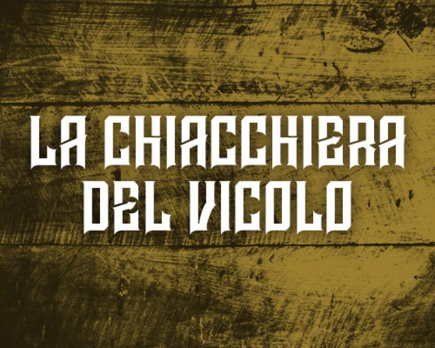 Area Riservata - Chiacchiera del Vicolo - Button
